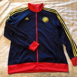 Adidas XL Zip Jacket Columbia futbol soccer